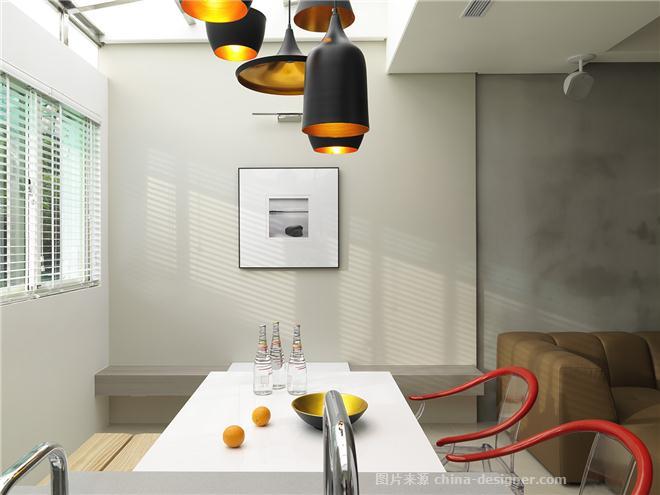掬一把天光-林宇崴的设计师家园-餐厅